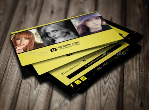 Photography Business Card Trend