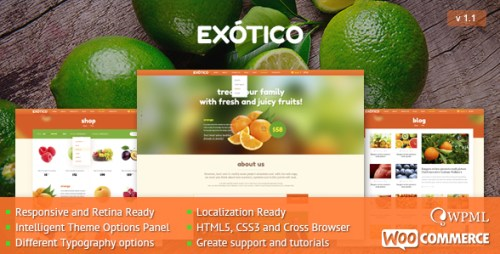 Exotico - Best WP Theme
