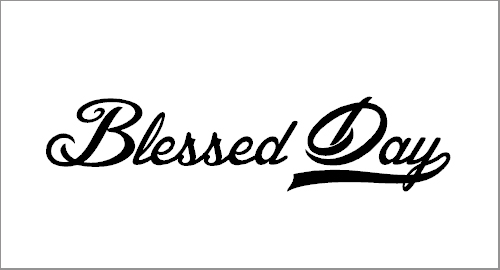 Free Download Blessed Day Font