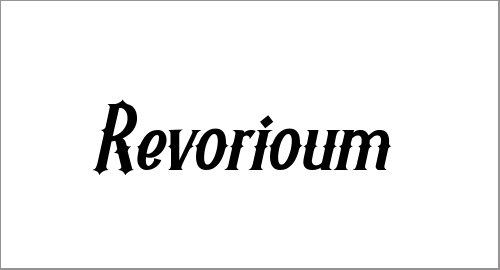 Fresh Free Revorioum Font To Download