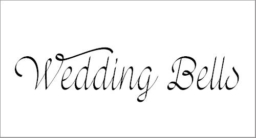 Mf Wedding Bells Font