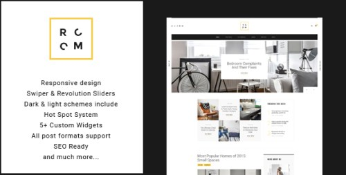 Room - Interior Design Blog & Furniture Shop Theme