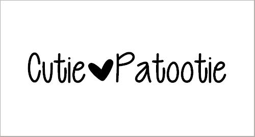 Cutie Patootie Font