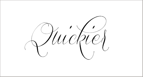 Quickier Demo Font
