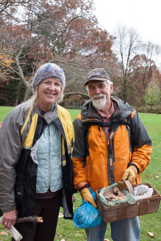 Happy mushroom hunters!