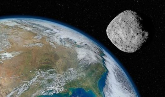 NASA reveals asteroid is heading for 'near Earth' approach tomorrow