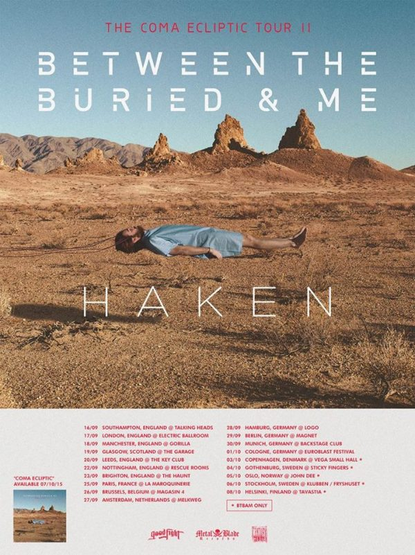 Between the Buried and Me Haken