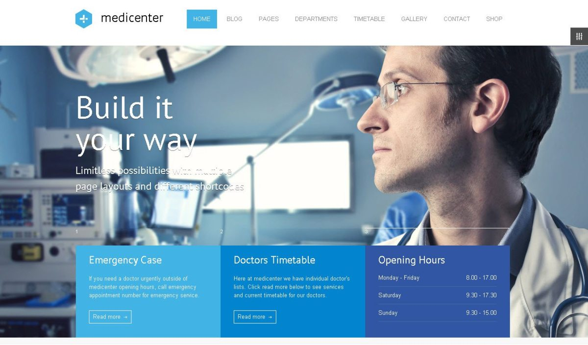 Health Medical WordPress Themes for Professionals, Clinics
