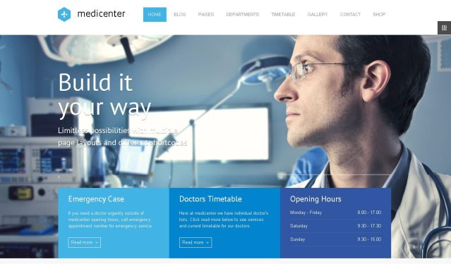 Medicenter - One of great Health & Medical WordPress Themes