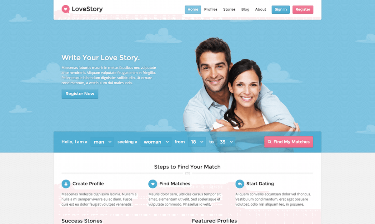 WordPress Dating Themes & Plugins to build dating website
