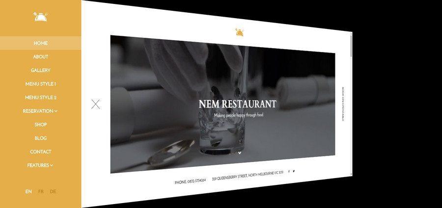 10+ Best Responsive WordPress Restaurant Themes 2016