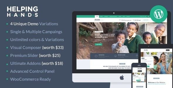 10+ Charity WordPress Themes for Nonprofit NGO organization