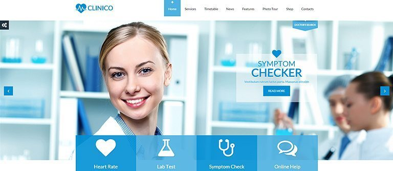 Best seller WordPress theme review: Clinico for Health & Medical Services