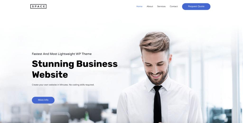 digital agency astra starter site