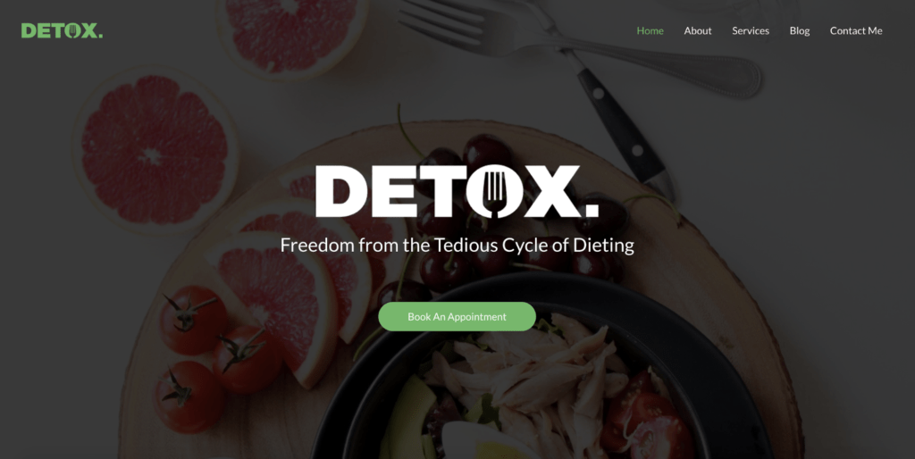 personal dietitian astra starter site