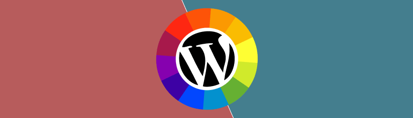 Šema boja WordPress sajt