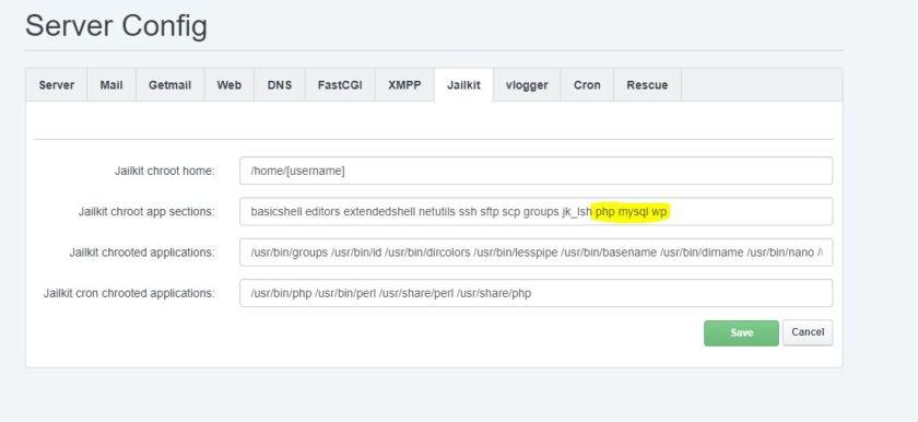 Podesavanje WP CLI alata unutar ISPConfig-a