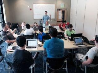 participants at YouthCamp