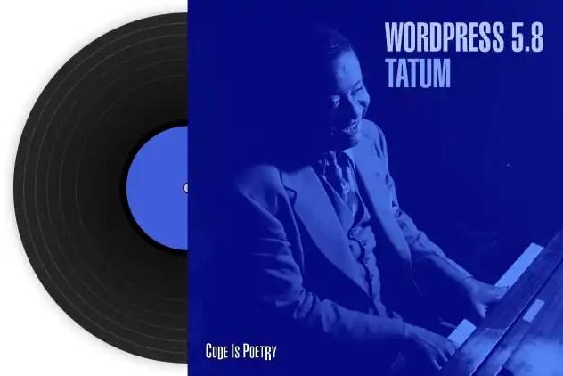 WordPress 5.8 'Tatum'