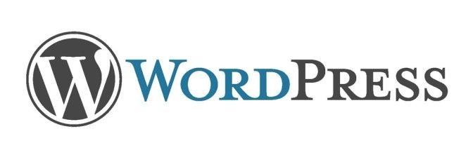 Logo oficial de del gestor de contenido WordPress