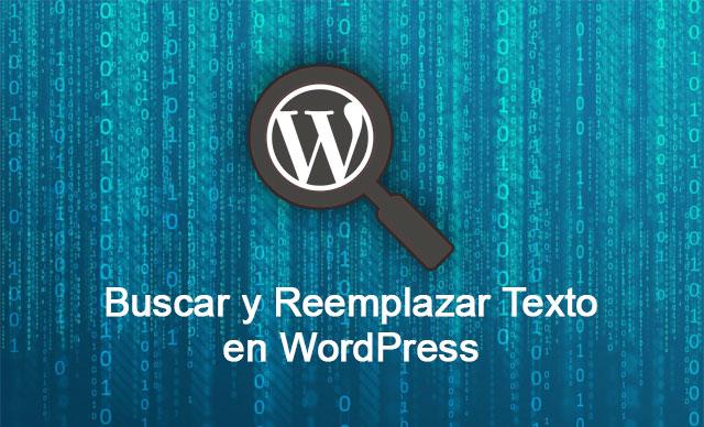 Buscar y Reemplazar Texto en Base de Datos en WordPress