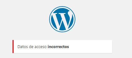 Personalizar  mensaje de error en formulario de acceso login en WordPress