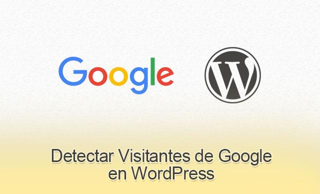 Detectar Visitantes de Google en WordPress