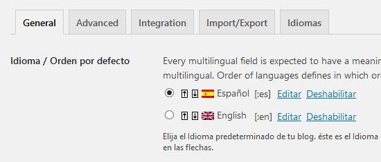 Plugin qTranslate X para traducir el contenido de tu sitio web de WordPress