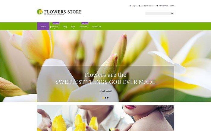 Flower Shop Responsive Shopify Theme