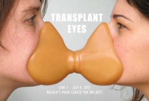 Transplant Eyes opening reception @ Walker's Point Center for the Arts