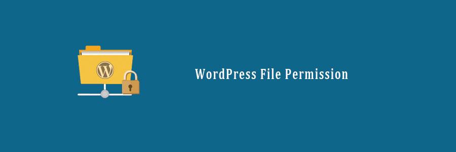 file permission wordpress