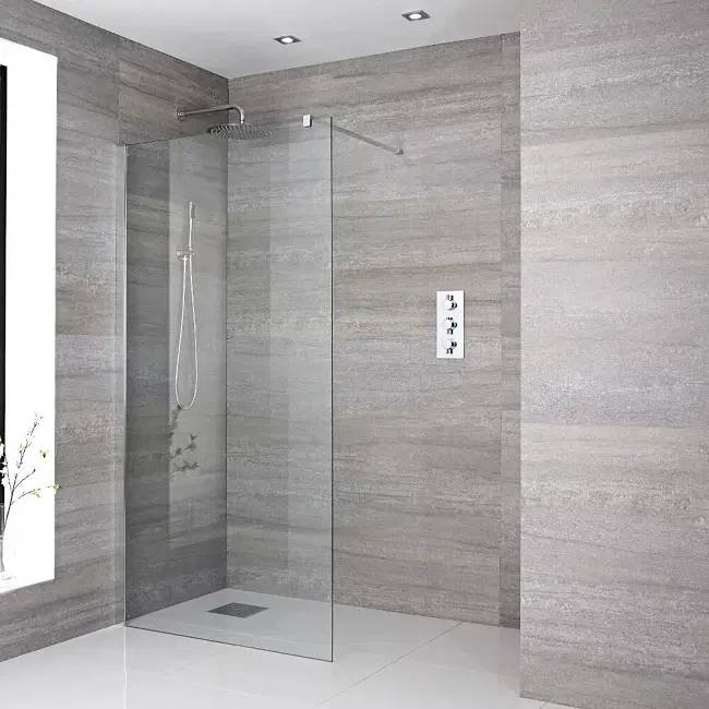 walk in showers and wet rooms
