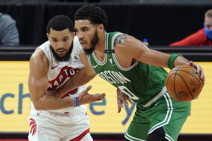 Tatum Scores 40 Points, Pritchard Adds 23 In Celtics Win Over Raptors | ABC6