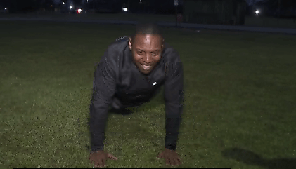Curtis tests his skills at Fort Jackson in the Army Combat Fitness Test! - Abccolumbia.com
