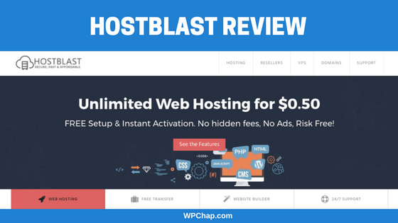 HostBlast review