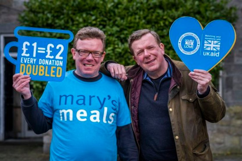 Craig and Charlie Reid back the charity