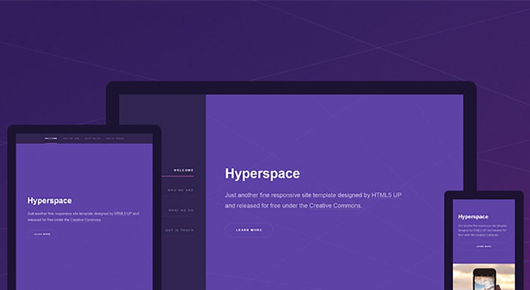 hyperspace-free_html5_template