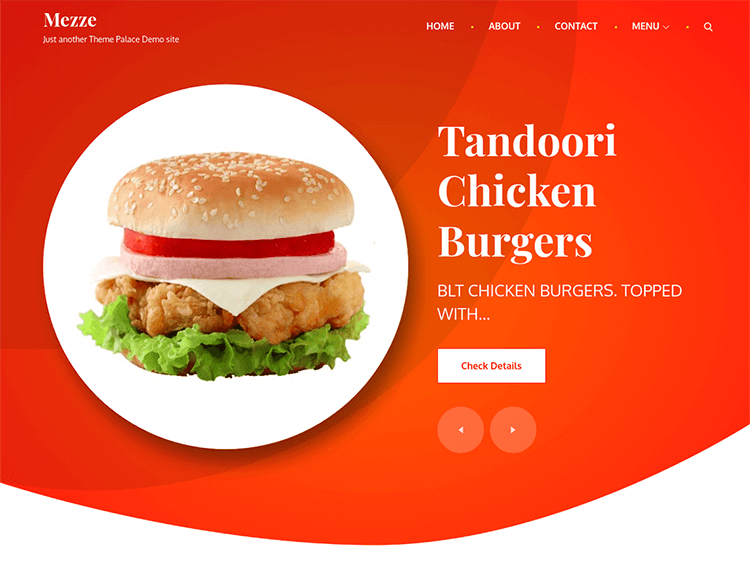 5 Best Free Restaurant WordPress Themes 2019
