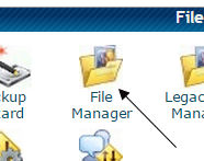 File Manager Icon of cPanel