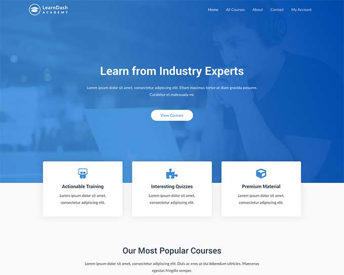 learndash by astra pro