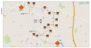 Section of Route 38 to be Temporarily Closed