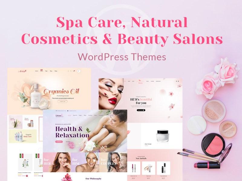 Beauty Salons WordPress Themes