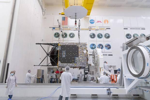 JPL begins assembly work on asteroid-exploring spacecraft in La Cañada Flintridge