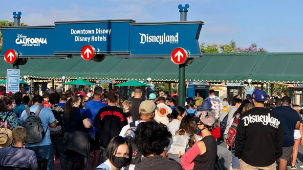 Disneyland opens Avengers Campus to massive crowds, mile-long lines and disappointed fans