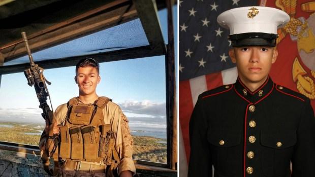 Disneyland pays tribute to fallen U.S. Marine killed in Afghanistan airport attack