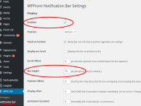 Plugin Review: WPFront Notification Bar