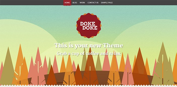 Doke Doke WordPress Theme