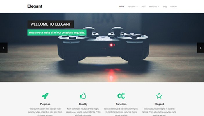 Elegant-Free-WordPress-Theme