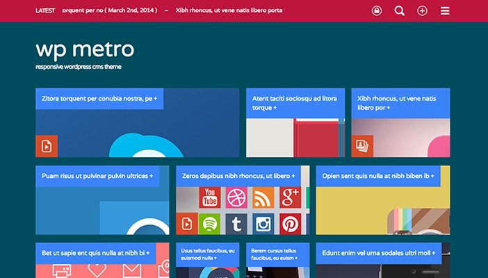 WPMetro WordPress Theme