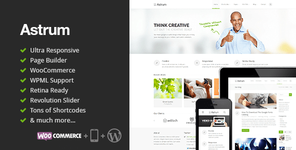 Astrum WordPress Theme Download
